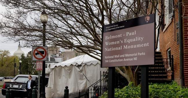 With new monument, Obama and Dems seize on Equal Pay Day