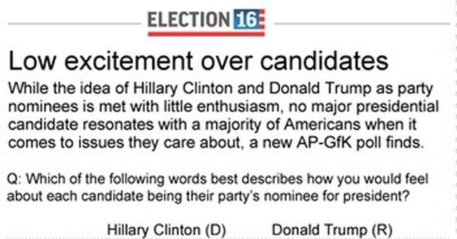 Most voters say 'meh' _ at best _ on the presidential field