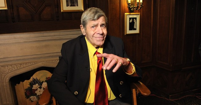 Jerry Lewis wants to live to be older than George Burns