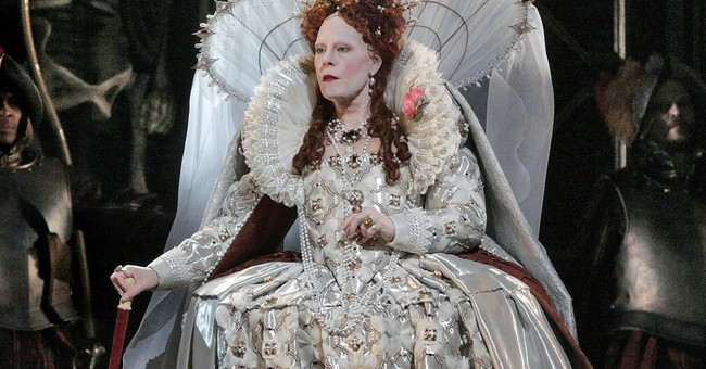 Soprano stars in Met Opera HD broadcast as angry queen
