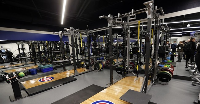 Beneath the ground, Cubs' new clubhouse sparkles