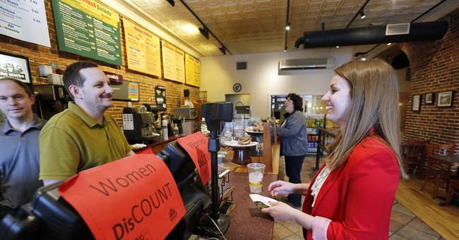 Bakery charges women 79 cents on a dollar for Equal Pay Day