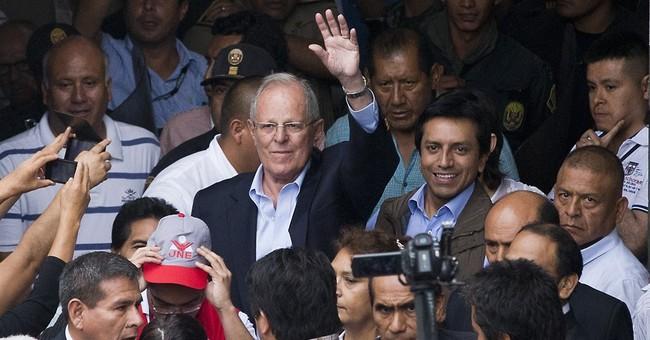 Fujimori's accidental rival embraces 'gringo' label in Peru