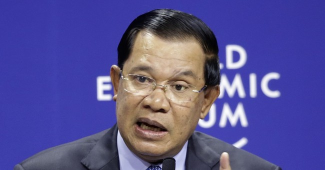 Cambodian PM warns of arrests for 'fake' border map claims