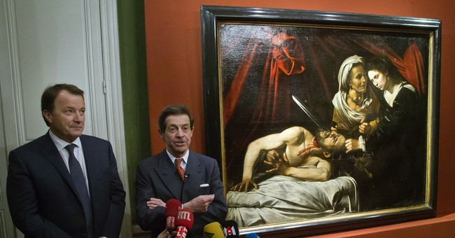 Possible lost Caravaggio painting found in attic in France
