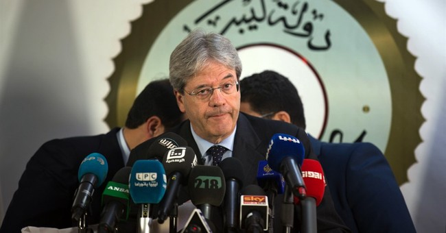 Italian FM visits Libya in boost to UN-backed government