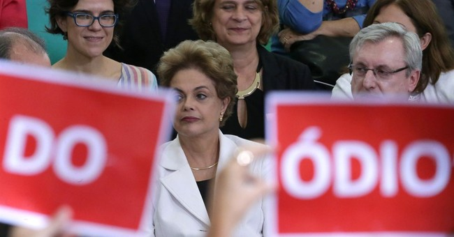 Brazil President lashes out at VP over impeachment bid