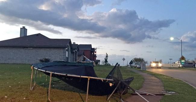 Baseball-size hail hits Dallas area; no injuries reported