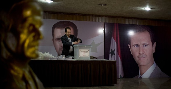The Latest: Opposition: Assad allies OK for transition