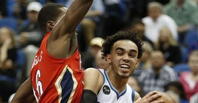 Timberwolves blast Pelicans in Mitchell's final game