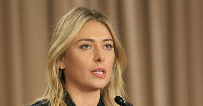 Russia says Sharapova in Olympic plans despite doping case