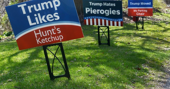 Home in NY, Trump aims for a rout but faces questions