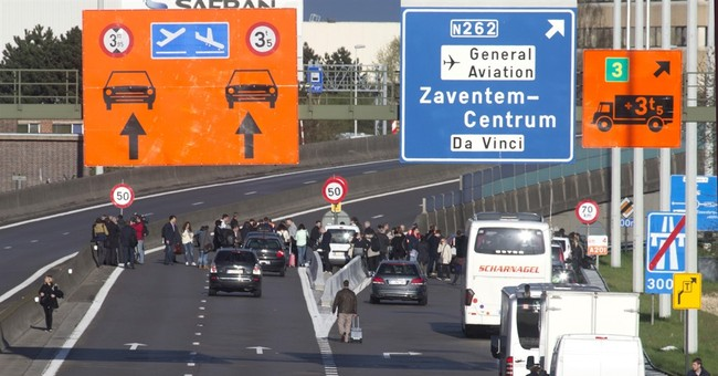 Strike action continues at bomb-damaged Brussels airport