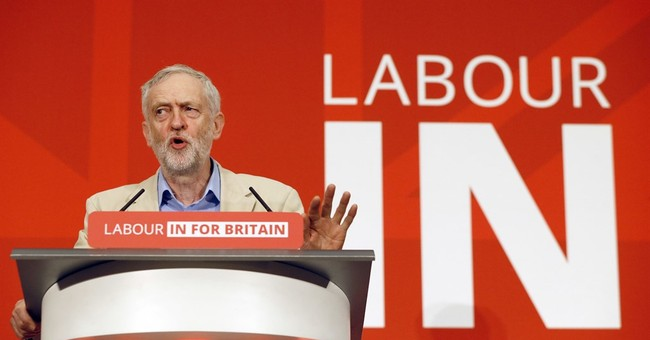 UK Labour chief Corbyn argues for 'in' vote in EU referendum
