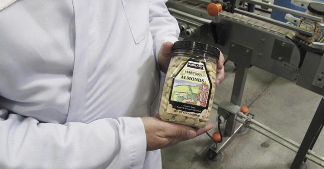 APNewsBreak: Thieves targeting California almonds, walnuts