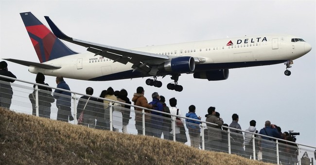Delta Air Lines' 1Q profit up 27 percent on low fuel costs