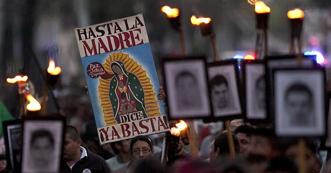 Federal police present at Mexican students' disappearance