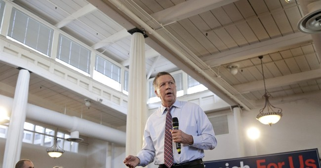 Kasich campaign traces a tricky path to GOP prize
