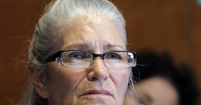 The Latest: Parole recommended for Ex-Manson family member