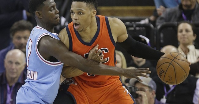 Thunder star Russell Westbrook rolling as playoffs arrive