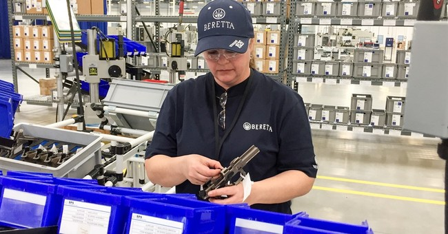 Gun maker Beretta celebrates opening of Tennessee plant