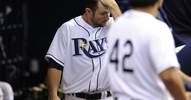Fan struck by ball at Rays game leaves field on stretcher