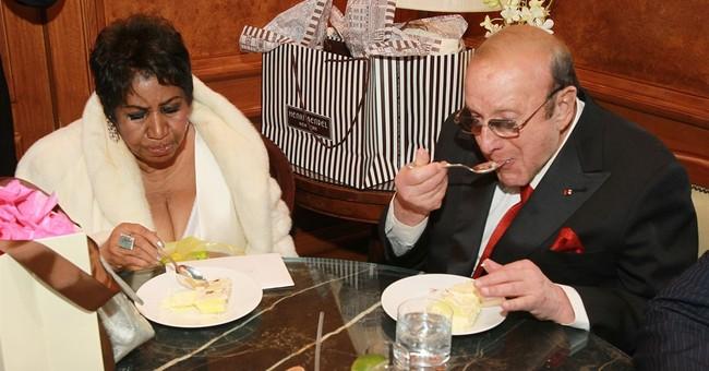 Aretha Franklin celebrates 74th birthday in Manhattan