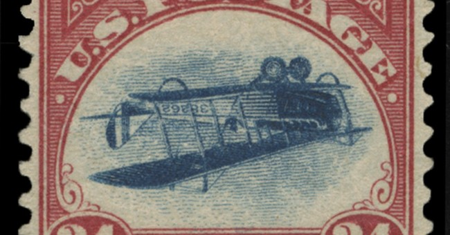 Stolen in 1955, famous 'inverted Jenny' stamp resurfaces