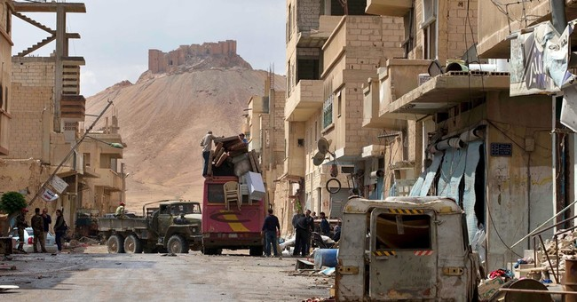 Heartbreak as Syrians briefly return home to IS-free Palmyra