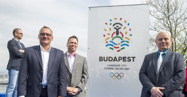 Budapest presents logo for 2024 Olympic bid