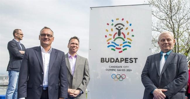 Budapest presents logo for 2024 Olympic bid