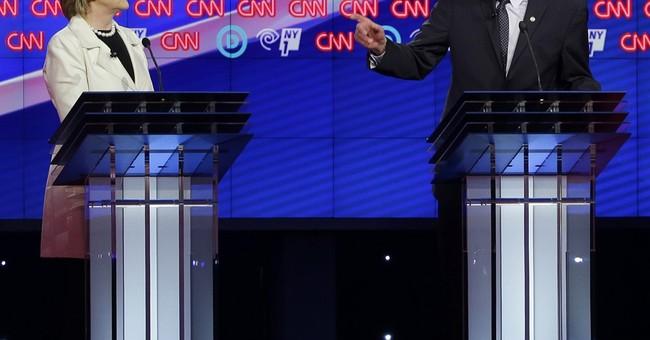 AP FACT CHECK: Clinton vs. Sanders on Wall Street