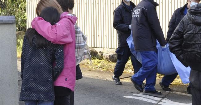 AP PHOTOS: The path of destruction from Japan's earthquakes