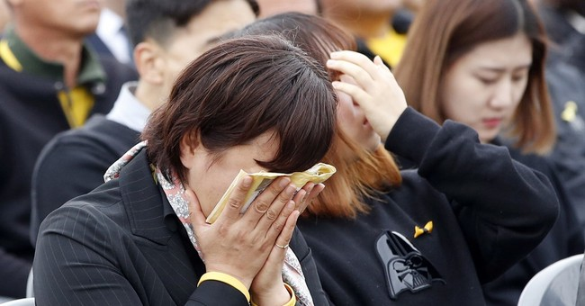 Thousands mark 2nd anniversary of S. Korean ferry disaster
