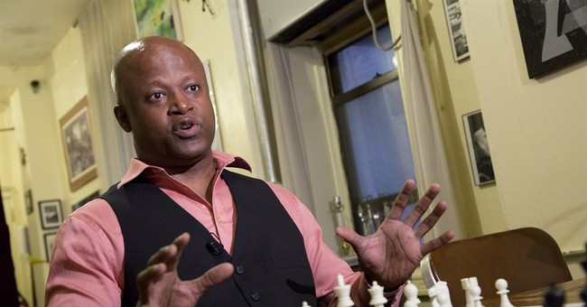 Correction: Black Chessmaster story