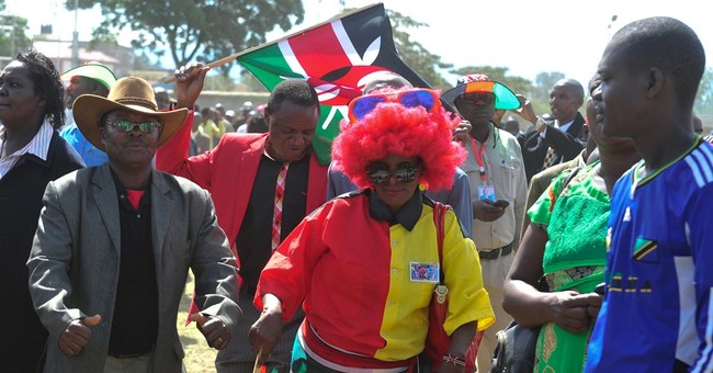 Kenya: President has rally to celebrate ICC dropping charges