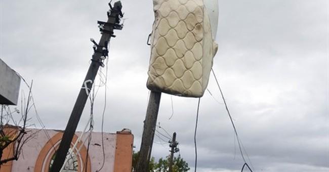 Small Uruguayan city surveys damage after deadly tornado