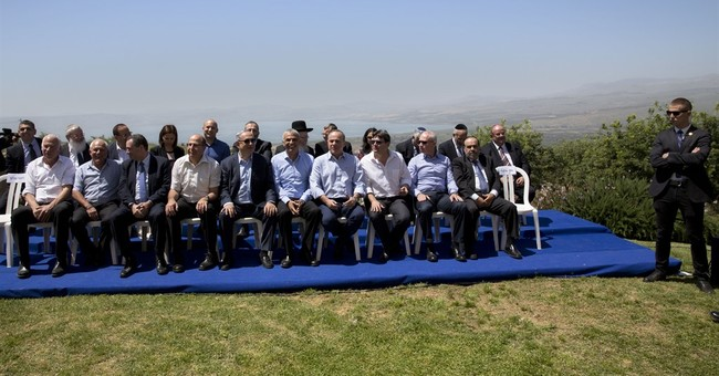Netanyahu says Israel will never withdraw from Golan Heights