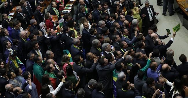 Brazil lower house OKs impeaching president, sends to Senate