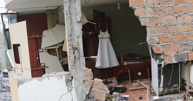 AP PHOTOS: Ecuador's biggest quake in decades kills over 240