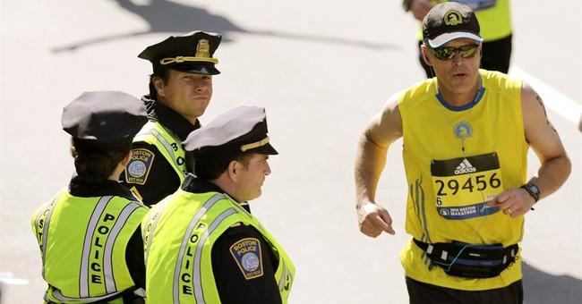 Boston Marathon bombing movies filmed during Monday race