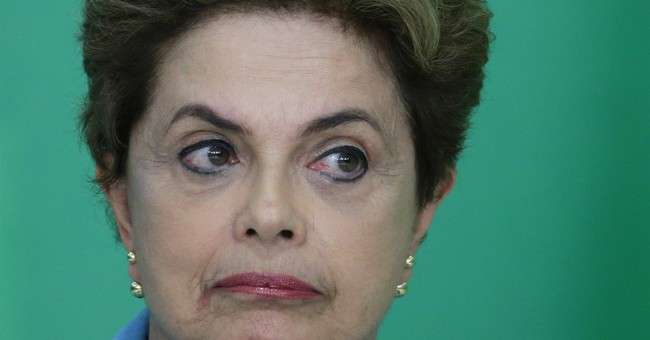 Brazil president says she won't quit after impeachment vote