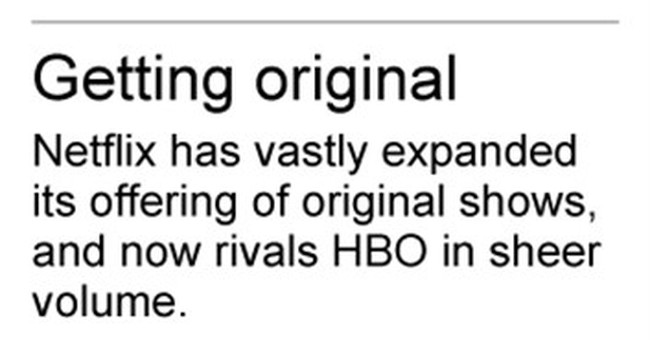Netflix is out-HBOing HBO in exclusive shows _ so far