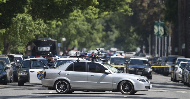 Standoff halts traffic, work for hours at California Capitol