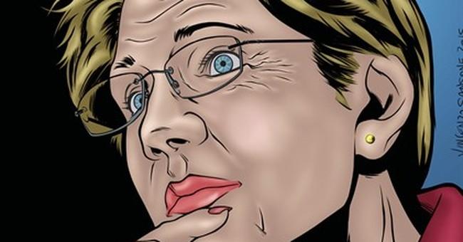 Elizabeth Warren, comic book hero? Senator is latest to star