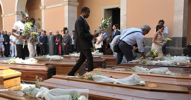 Italy aims to raise shipwreck containing drowned migrants