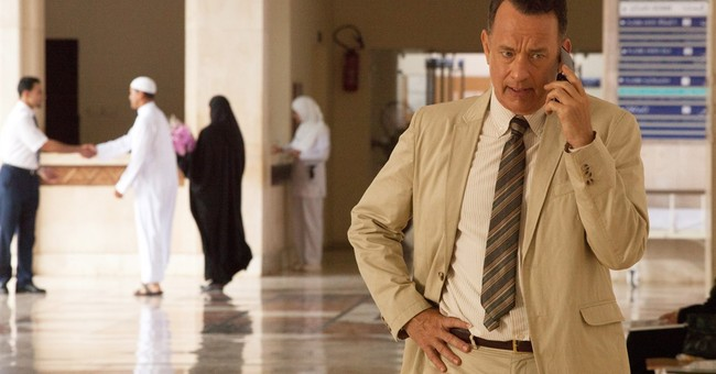 Hanks, movie-land ambassador to America, takes another trip