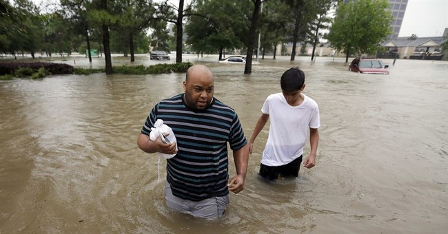 The Latest: Fatality count reaches 4 in Houston flooding