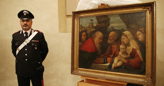 Italy recovers 3 paintings seized during World War II