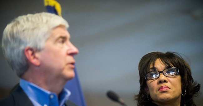 Michigan governor pledges contact with every Flint household